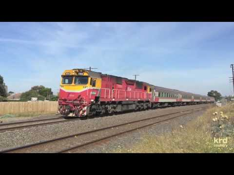 Australian Trains And Railways: V/Line To Albury - Southern Cross To Donnybrook