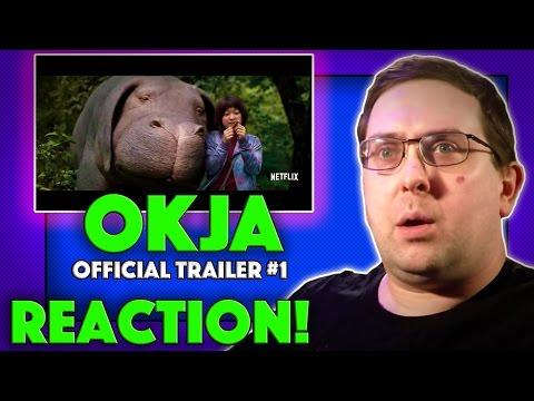 REACTION! Okja Trailer #1 - Tilda Swinton Netflix Movie 2017