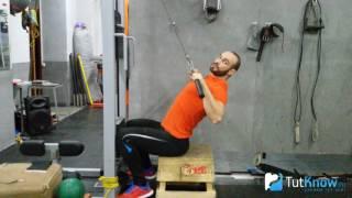 Тяга верхнего блока - ошибки начинающих спортсменов