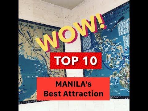 Top 10 Best Attractions in MANILA