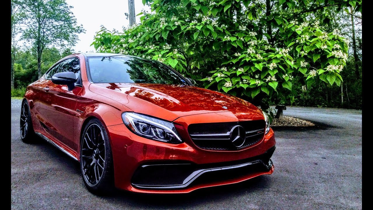 2017 amg c63s north america 39 s only hyacinth red amg c63s coup youtube. Black Bedroom Furniture Sets. Home Design Ideas