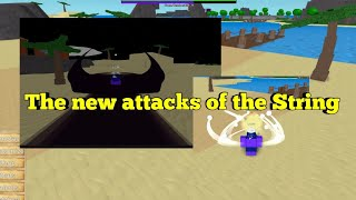 The new attacks of the String Fruit-One Piece Legendary-Roblox