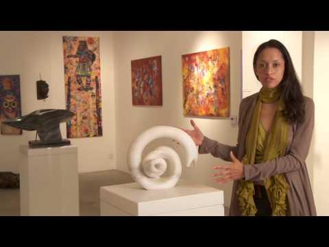 Baba Jakeh Chanda one of Zambias leading sculptors.