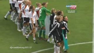 Deutschland - Südkorea 5:1 (U20 Frauen Fussball-WM 2010)