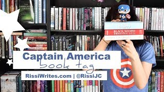 The Captain America Book Tag: 2018 Edition |  Finding Wonderland