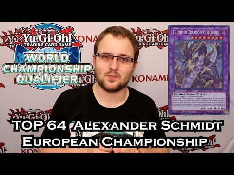 Yu-Gi-Oh! Top 64 WCQ: European Championship 2019 - Danger! Thunder Dragon - Alexander Schmidt