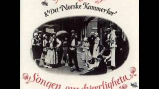 Geirr Lystrup med Det Norske Kammerkor - Honninghumla.wmv