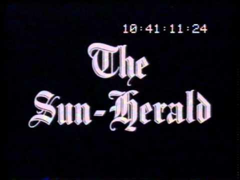 Sun Herald newspaper 1965 TV commercial