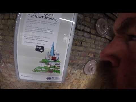 Sadiq Khan, Mayor for London's Transport Plan Poster 2078