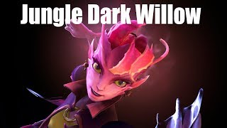 DoTa 2 How To jungle Dark Willow Patch 7.22g