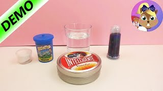 Eksperiment: Da li može Glibbi sluz, slime ili inteligentna masa da pluta?