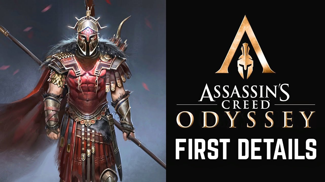 Assassin's Creed Odyssey First Details - Two Main Characters, Dialogue Options and More!