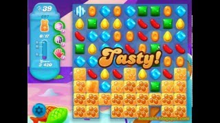 Candy Crush Soda Saga - Level 697 (3 star, No boosters)