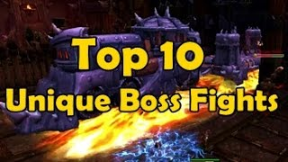 Top 10 Most Unique Boss Fights in WoW