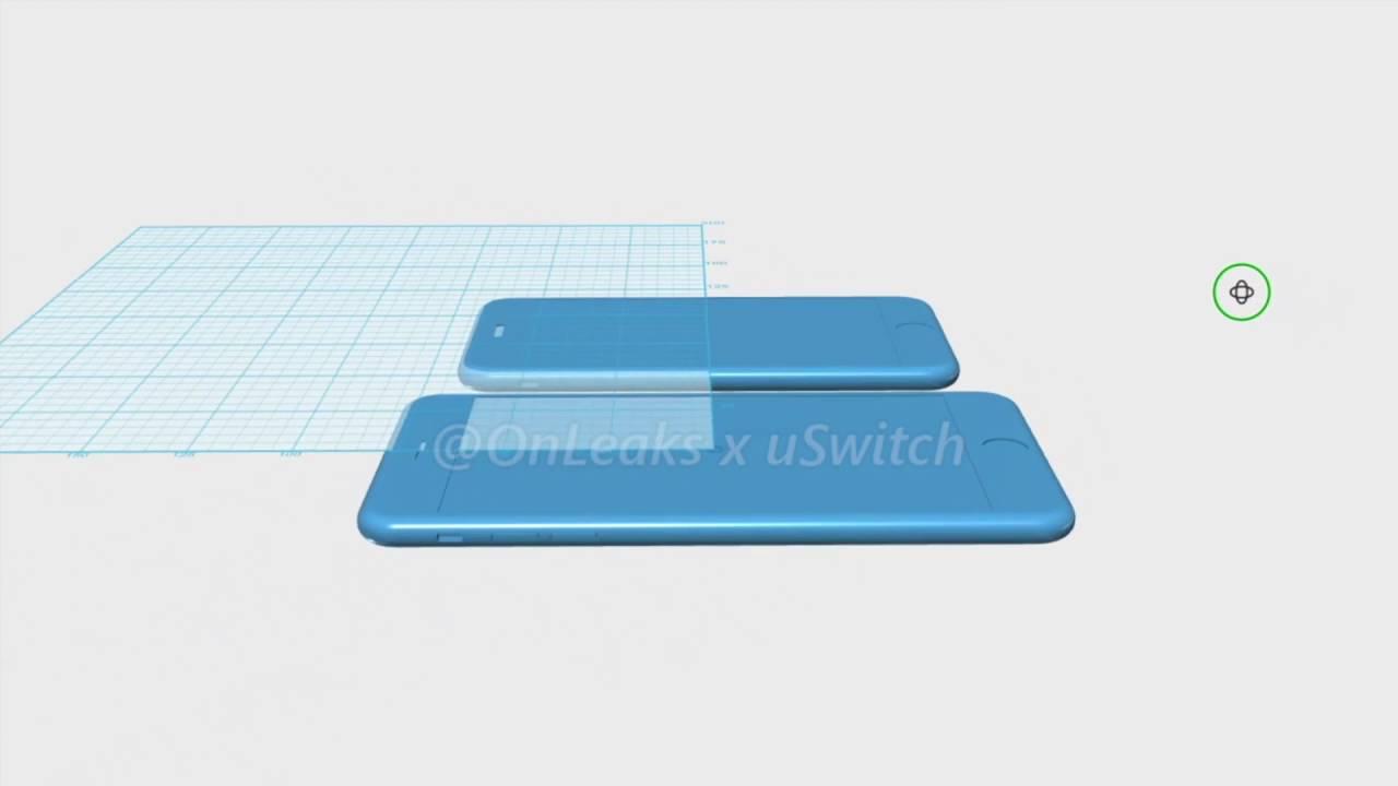 Exclusive iPhone 7 CAD renders - uSwitch.com
