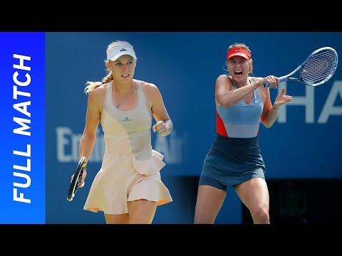 Maria Sharapova Vs Caroline Wozniacki Full Match | US Open 2014 Round Four
