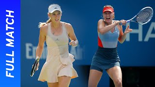 Maria Sharapova vs Caroline Wozniacki Full Match | US Open 2014 Round Four