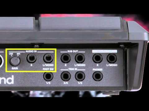 Roland SPD-SX Sampling Pad Overview