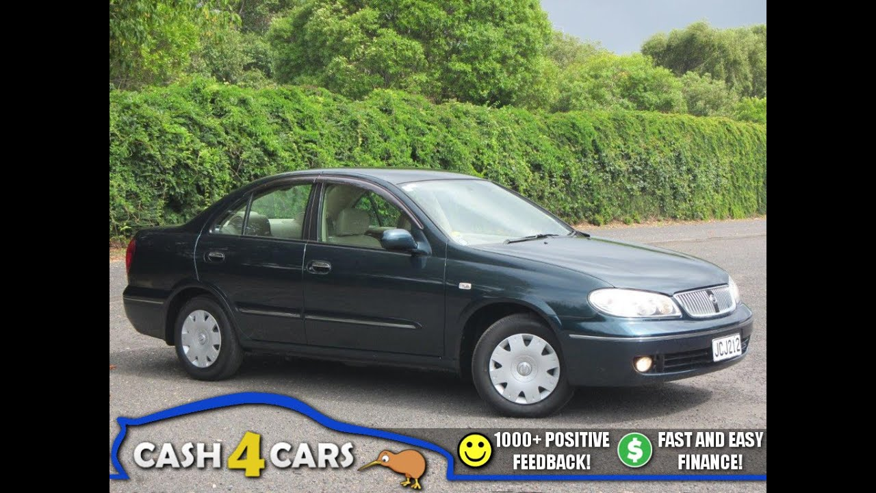 2000 Nissan Bluebird Sylphy - Info and Specification - YouTube
