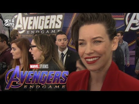 Avengers: Endgame World Premiere - Evangeline Lily Interview