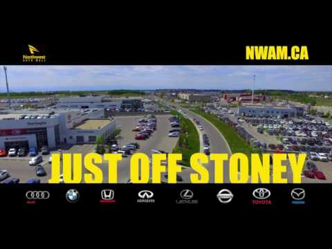 Fly Over North West Auto Mall April 2016 in Calgary, AB - 8 Dealerships!