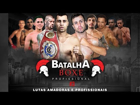 Batalha Boxe Profissional #3 | Cruel Vs. Moledas
