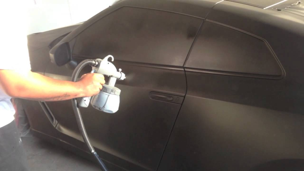 Plasti Dip Nissan Gtr Matte Black W Matte Red Rims Youtube