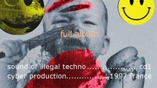 va sound of illegal techno 1997 full album cd1