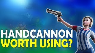 HANDCANNON: IS IT WORTH USING? | WHY I MISS JETPACKS | FUNNY GAME - (Fortnite Battle Royale)