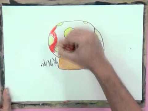 สอนศิลป์ตอนที่122 หมากฮอสเห็ด