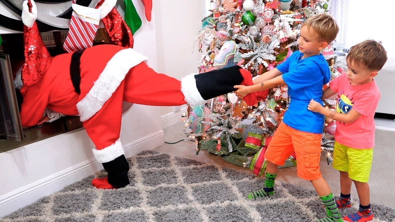 Vlad e Nikita Christmas presentes história