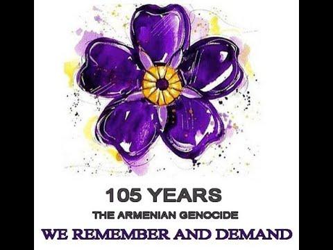 Armenian Genocide Commemoration April 24, 2020