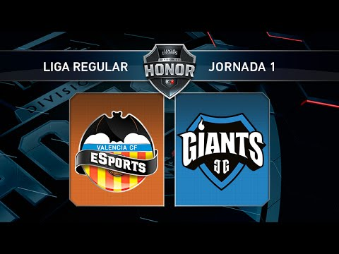 Valencia CF eSports vs Giants Only The Brave - #LoLHonor1 - Mapa 1 - Jornada 1 - T11