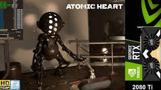 Atomic Heart NVIDIA Ray Tracing Demo 2560x1440 DLSS | RTX 2080 Ti | i9 9900K 5GHz
