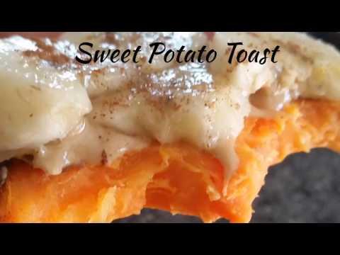 Sweet Potato Toast! So Many Ways to Enjoy...