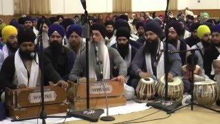 Bhai Harpreet Singh Jee (Toronto) - Friday Evening Bay Area Smagam 2016