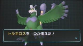 Tornadus Therian Forme LIVE CAPTURE - Pokemon AR Searcher (Dream Radar) - #4 - 1ST ON YT