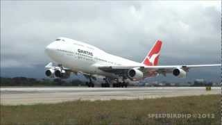 Qantas Airways Boeing 747-438 [VH-OJB] Ferry Flight to Victorville