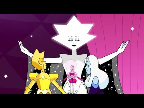 The four Diamond's fusion [Paragon Diamond] | Steven Universe fan Animation | Rose Quartz Fenzy