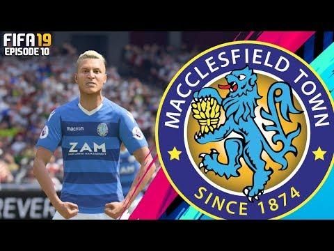FIFA 19 MACCLESFIELD TOWN RTG CAREER MODE - #10 THE RETURN OF BECKS!!