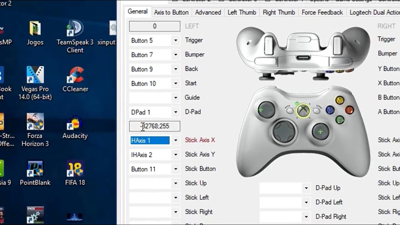 x360ce pour windows 10