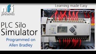 logix pro plc silo simulator allen bradley