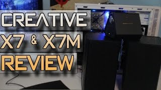 Creative X7 (USB DAC/AMP) & XM7 (2.0 Speakers) SoundBlaster Review