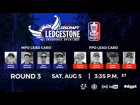 Pro Tour: Ledgestone Insurance Open presented by Discraft - Round 3
