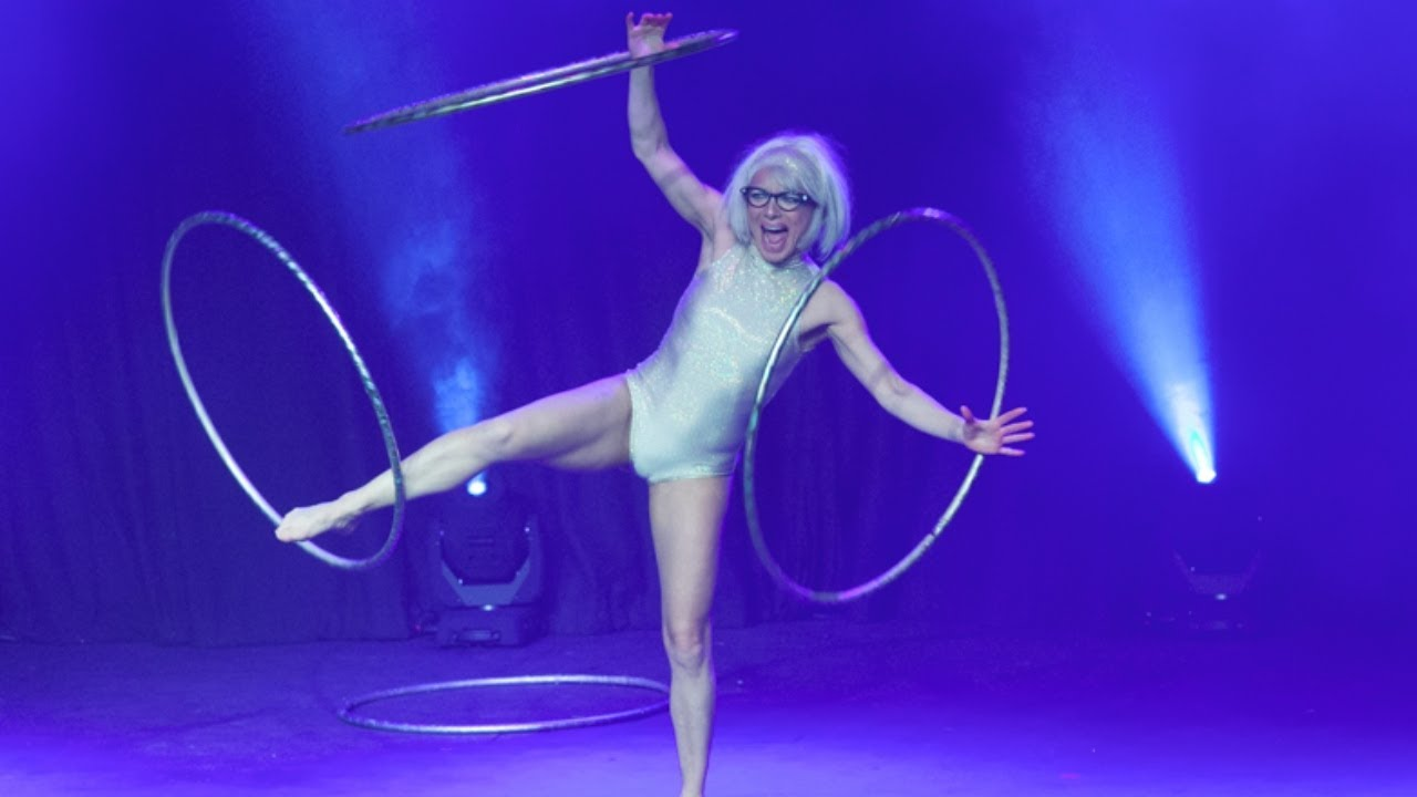 """Abigail Collins - """"I Will Survive"""" (Hoops) at The Velvet Burlesque (2.5.15)"""
