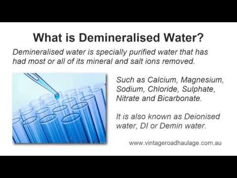 What Is Demineralised Water? Is It Different To Distilled Water?