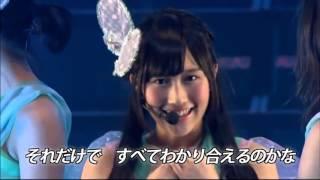 Top26.結晶/NMB48 白組 NMBリクアワ2014【NMB48 Shirogumi [Crystal]】