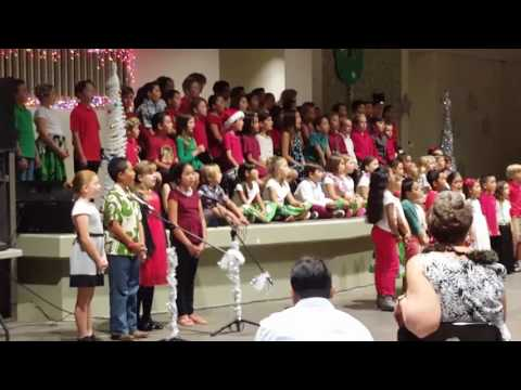 """You can't take Jesus out of Christmas"" performed by the Makua Lani Christian Academy"