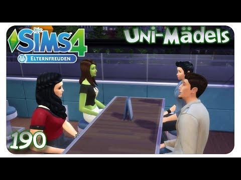 Peinliches Doppeldate #190 Die Sims 4: Uni Mädels Elternfreuden - Let's Play