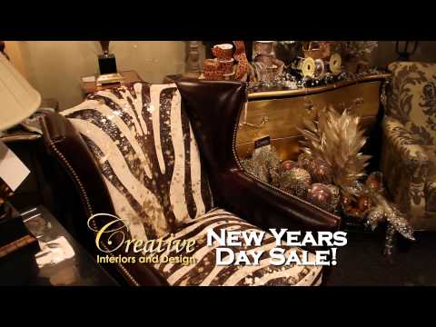 "Creative Interiors & Design ""New Years Day Sale"" TV Spot"